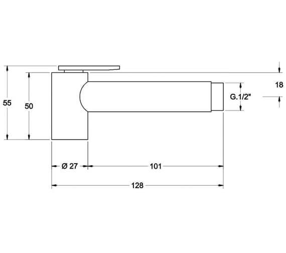 Technical drawing QS-V86381 / S1113