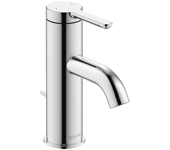 Duravit C1 Single Lever 155mm High Basin Mixer Tap With Pop-Up Waste