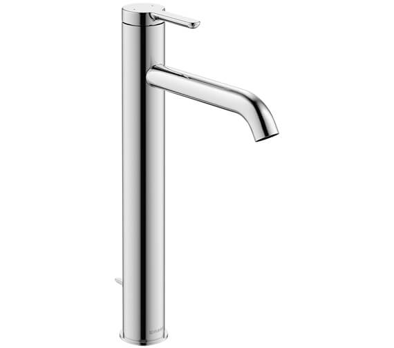 Alternate image of Duravit C1 Single Lever 155mm High Basin Mixer Tap With Pop-Up Waste