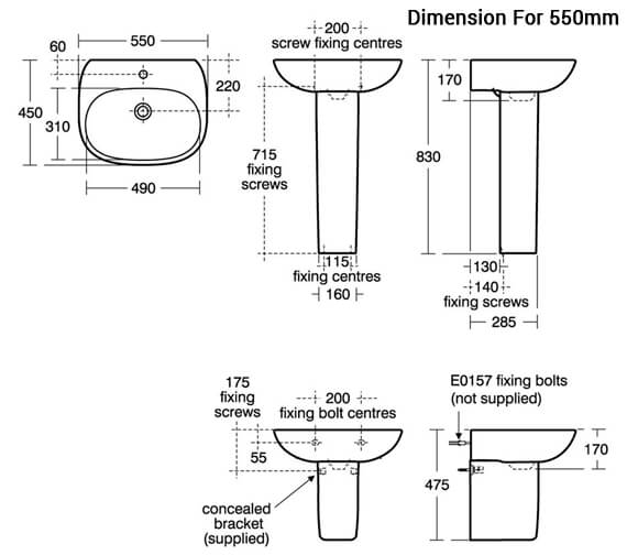 Additional image for QS-V80132 Ideal Standard Bathrooms - T031201