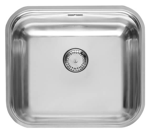 Reginox Colorado 455 x 393mm Single Bowl Stainless Steel Integrated Sink