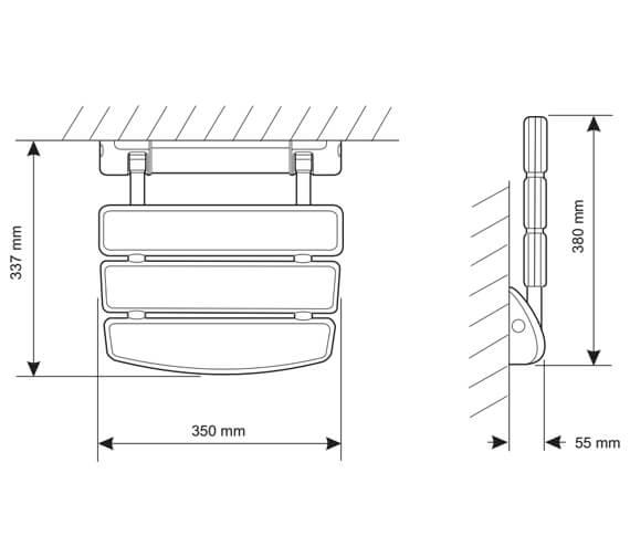 Technical drawing QS-V52549 / 2.1536.128