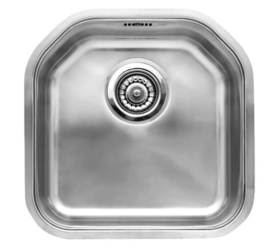 Reginox Denver 415 x 415mm Single Bowl Stainless Steel Integrated Sink