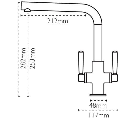 Technical drawing QS-V80970 / 115.0535.863