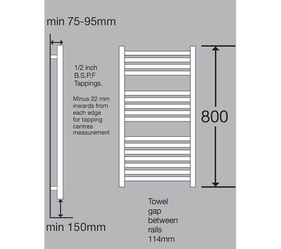 Technical drawing QS-V19939 / DCC 800-500