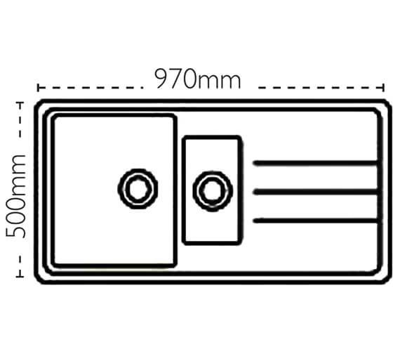 Technical drawing QS-V88440 / 114.0308.264