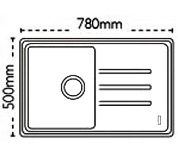 Technical drawing QS-V88436 / 114.0201.150