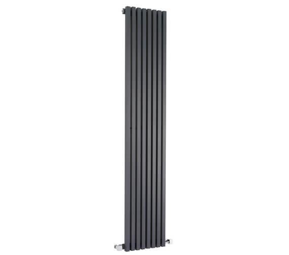 Additional image of Hudson Reed Kinetic 360 x 1800mm Single Panel Vertical Designer Radiator