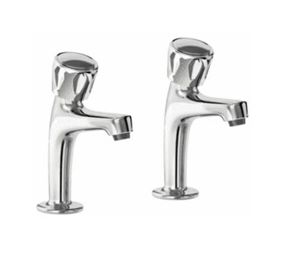Carron Phoenix Modulo Pair Of Kitchen Pillar Taps