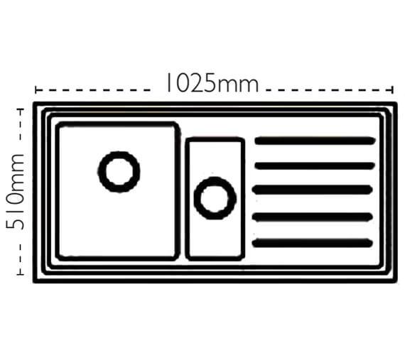 Technical drawing QS-V88445 / 101.0158.043