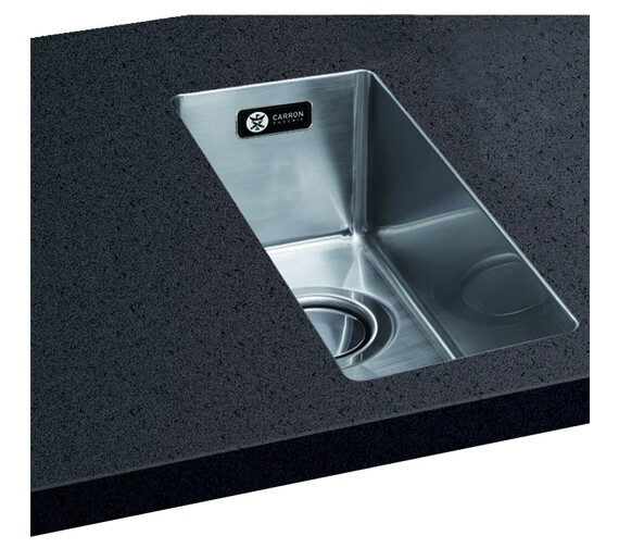 Carron Phoenix Deca 50 Polished 1.0 Bowl Kitchen Sink