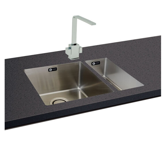 Carron Phoenix Deca 105 Polished 1.0 Bowl Kitchen Sink