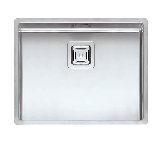 Alternate image of Reginox Texas Single Bowl Stainless Steel Integrated Kitchen Sink 220mm