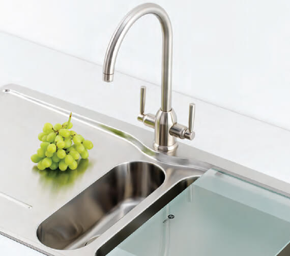 Carron Phoenix Dante Filter Kitchen Sink Mixer Tap