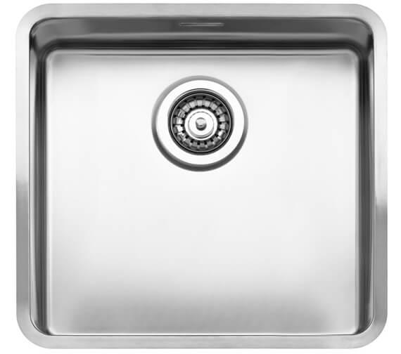 Additional image of Reginox Kansas Single Bowl Integrated Stainless Steel Sink 220mm