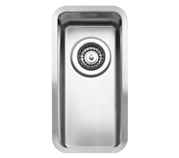 Reginox Kansas Single Bowl Integrated Stainless Steel Sink 220mm