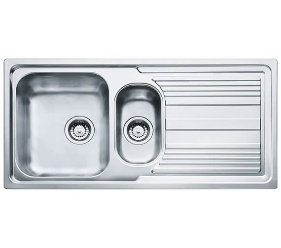 Carron Phoenix Logica 150 Polished 1.5 Bowl Inset Kitchen Sink