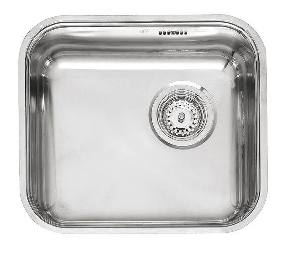Reginox L18 Series 445 x 353mm Single Bowl Stainless Steel Integrated Sink