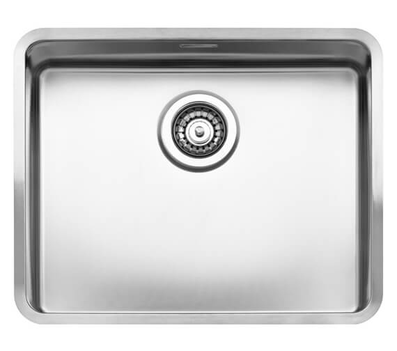 Alternate image of Reginox Ohio Single Bowl Stainless Steel Integrated Kitchen Sink 220mm