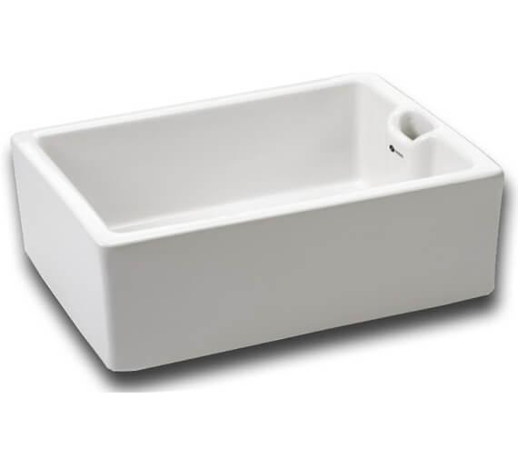 Carron Phoenix Belfast 110 White 1.0 Bowl Sit On Kitchen Sink