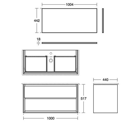 Technical drawing QS-V8442 / E0828B2