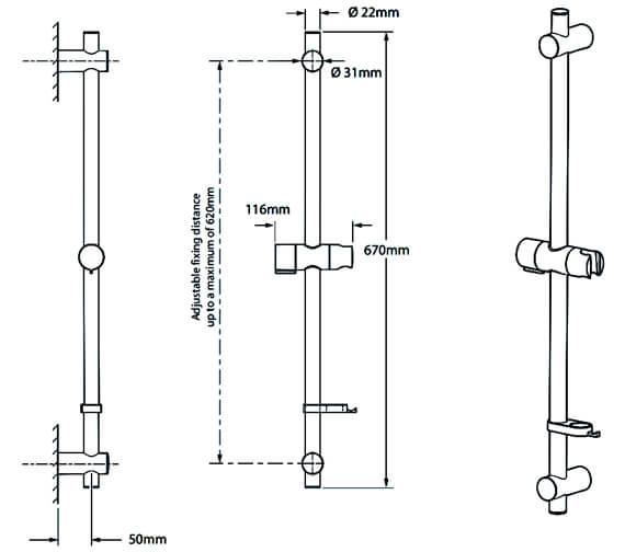 Technical drawing QS-V29276 / TSKFPRO8000WC