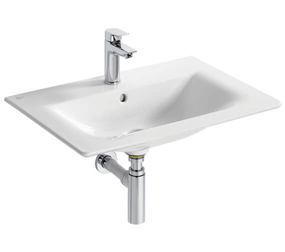 Ideal Standard Concept Air Cube 640mm Wide Vanity Washbasin