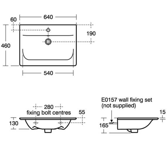 Technical drawing QS-V8407 / E076401