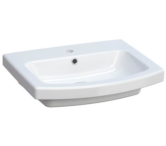 Saneux I Line 550mm 1 Tap Hole Wash Basin