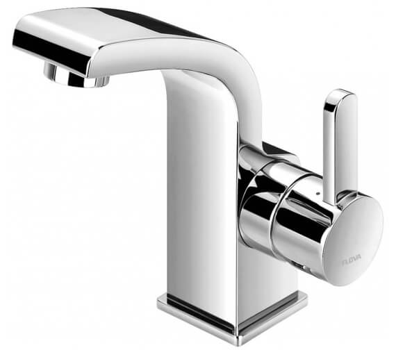 Additional image of Flova Essence Cloakroom 132mm High Basin Mixer Tap With Clicker Waste