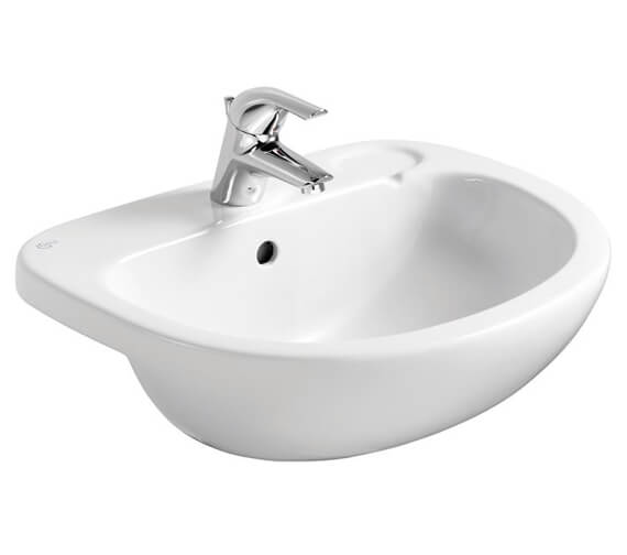 Ideal Standard Studio 560 x 460mm Semi Countertop 1 Taphole Basin