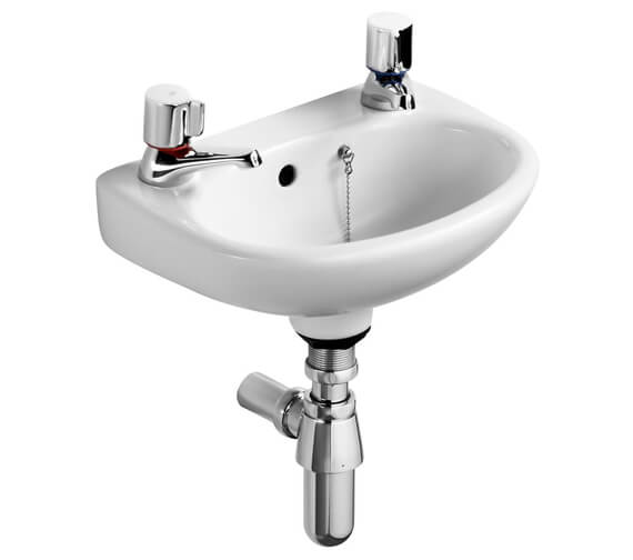 Ideal Standard Studio 350mm Handrinse Basin With Two Tap Holes