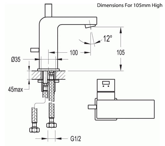 Technical drawing QS-V27137 / STBAS