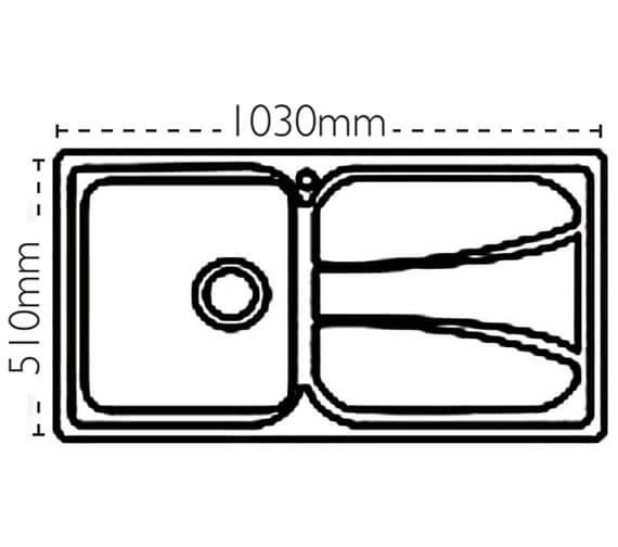 Technical drawing QS-V88482 / 101.0043.154
