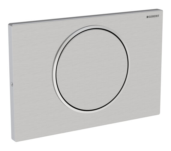 Geberit Sigma10 Lockable Single Flush Plate Stainless Steel