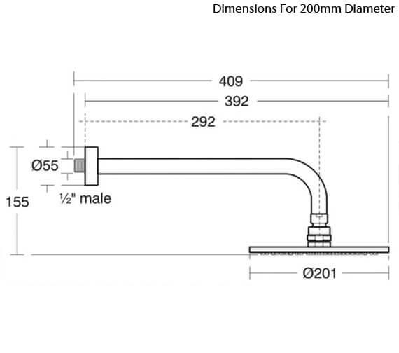 Technical drawing QS-V89404 / B9442AA