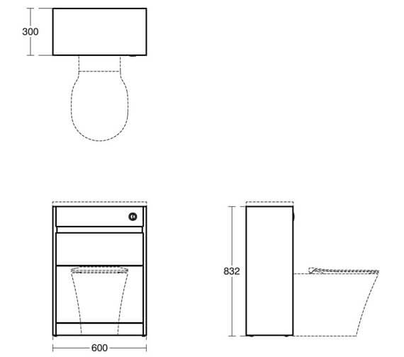 Technical drawing QS-V8440 / E1149EQ