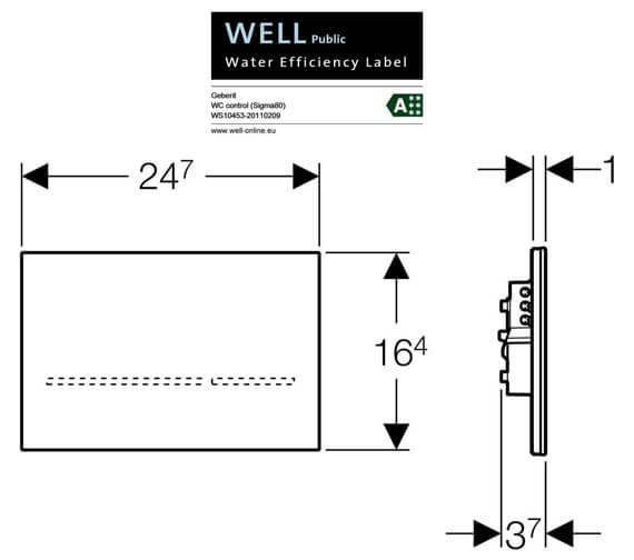 Technical drawing QS-V41990 / 116.090.SG.1