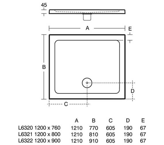 Technical drawing QS-V76866 / L632001