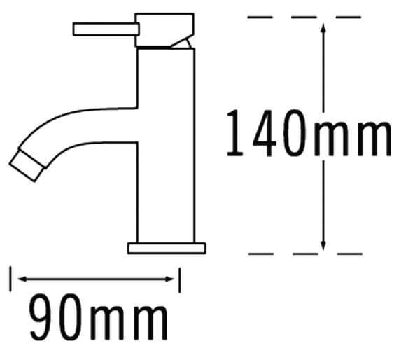 Technical drawing QS-V31268 / 63063