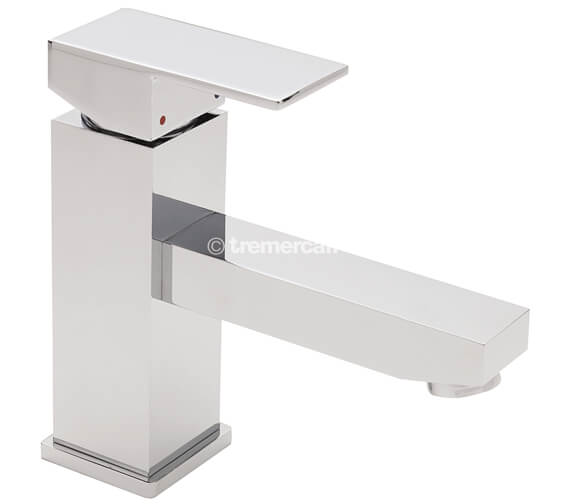 Tre Mercati Edge Mono Basin Mixer Tap With Click Clack Waste