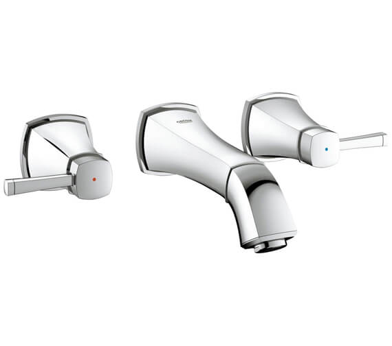 Grohe Spa Grandera S-Size Wall Mounted 3 Hole Basin Mixer Tap
