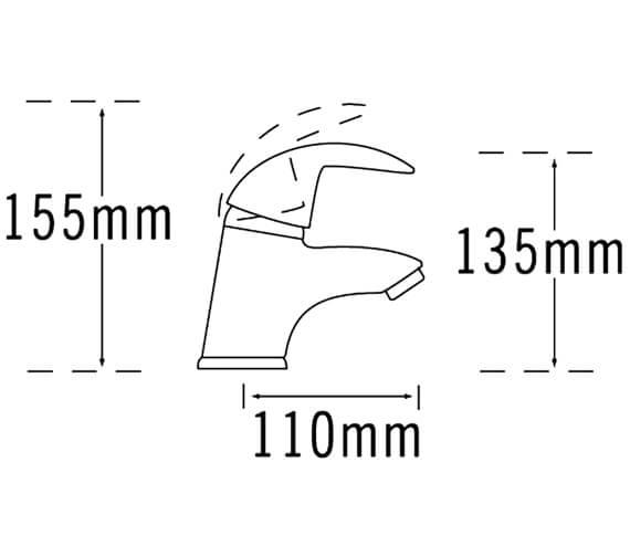 Technical drawing QS-V31381 / 65063