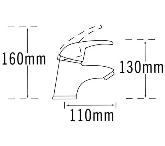 Technical drawing QS-V31399 / 25063