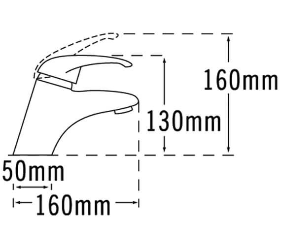Technical drawing QS-V31398 / 25065