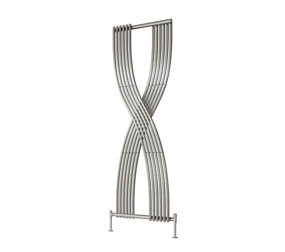 Reina Dimaro 620 x 1760mm Steel Designer Vertical Radiator Chrome