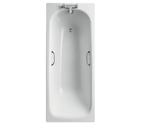 Additional image of Ideal Standard Simplicity Steel 1500 X 700mm Bathtub With Handgrips