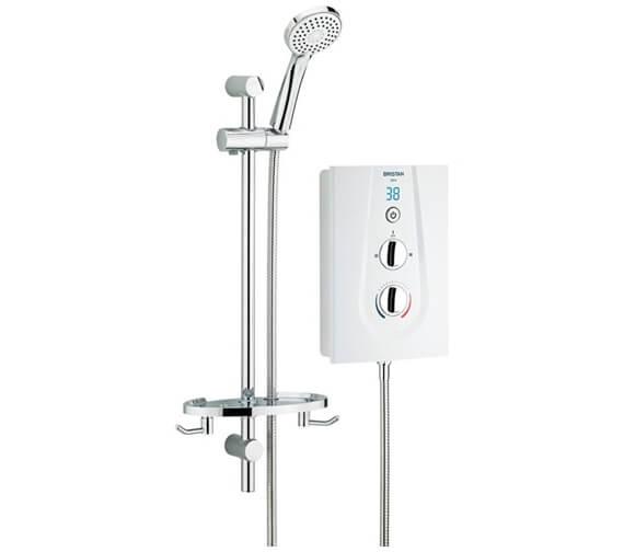 Bristan Glee 9.5KW White Electric Shower