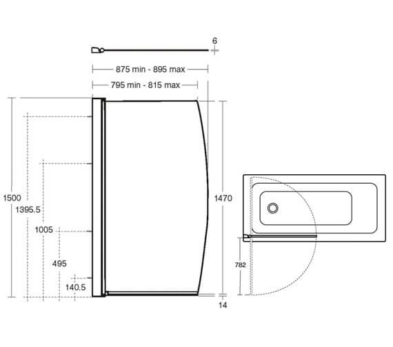 Technical drawing QS-V41007 / L6211AA