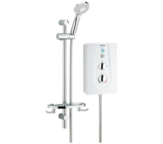 Bristan Glee 10.5KW White Electric Shower - GLE3105 W